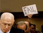 Durant le procès des responsables de la crise en 2008